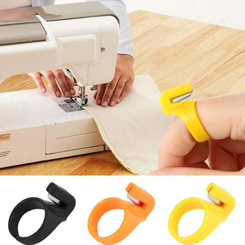 6 unids/set nueva herramienta secante textil fibra Metal lana Spinning dedo secante hogar herramientas de coser