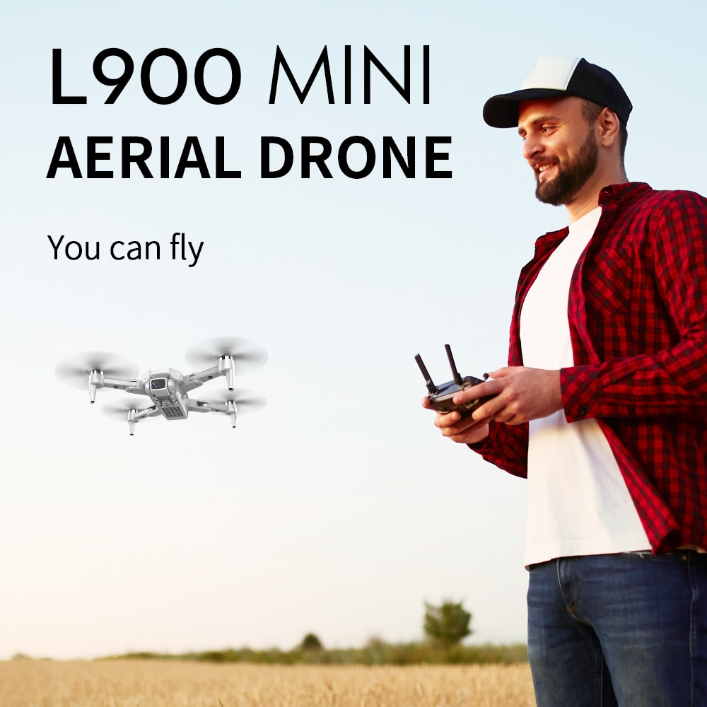 2020 NEW L900 Drone 5G GPS 4K with HD Camera FPV 28min Flight Time Brushless Motor Quadcopter distance 1.2km Professional drones enlarge