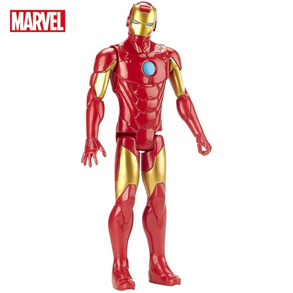 Marvel Avengers Iron Man Titan Hero Series Movie Mark Blast Gear Anime Toy Model Decoration Action Figure Over 4 Years Old E7380