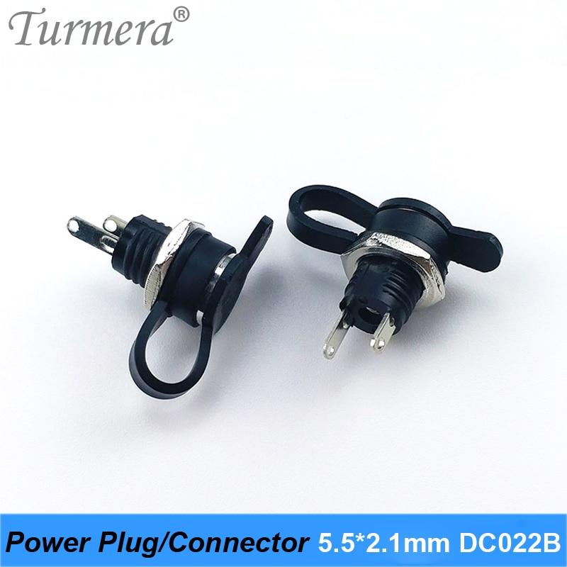 Dc022b 5.5x2.1 m conector de tomada de alimentação dc para diy dc impermeável jack conector dc022b 5.5x2.1mm 5 peças/lote turmera 2020 novo