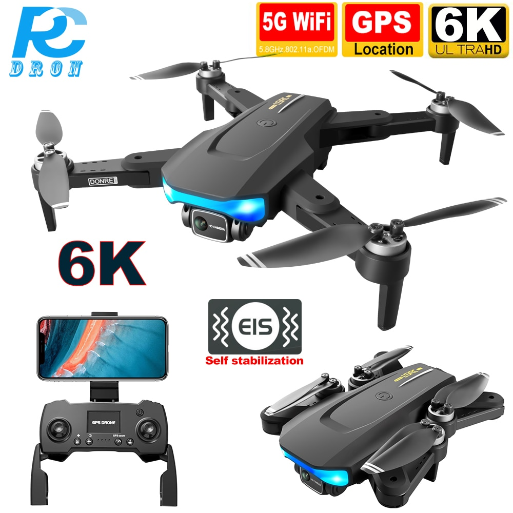 Drone 6K HD 28mins 1KM Long Distance 5G WiFi FPV Image Brushless LS38 RC quadcopter Dron with EIS Camera HD 4K gps Professional