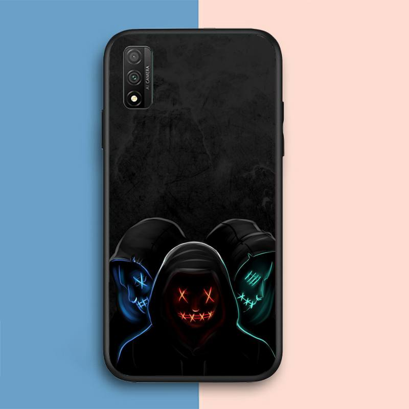 DJ Man Antigas mask Phone Case For Samsung A01 A10 A02 A20 A31 A40 A50 S A52 A51 A70 A71 A80 A91 Cover Fundas Coque