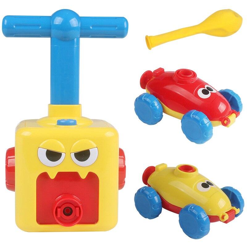 Инерционная Мощность шар игрушечный автомобиль образования научный эксперимент Детские Игрушечные Машинки Игрушки для мальчиков и игрушк...
