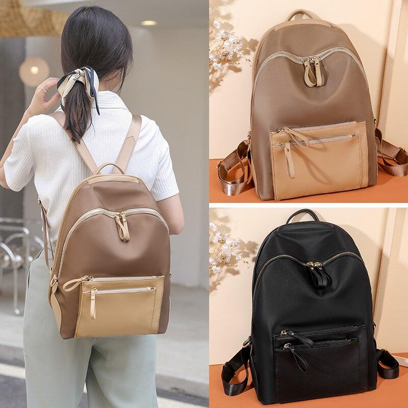 Женский рюкзак, дорожная сумка, женский рюкзак, рюкзак, новый модный рюкзак, нейлоновый тканевый рюкзак, вместительный рюкзак, 2021