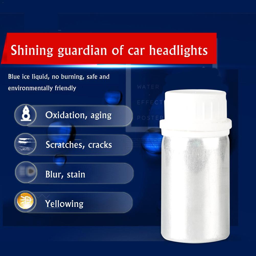 50/100ML Car Headlight Restoration Anti-scratch Agent And Maintenance Liquid Kit 30ML Rearview Mirror Coating Restoration Wash