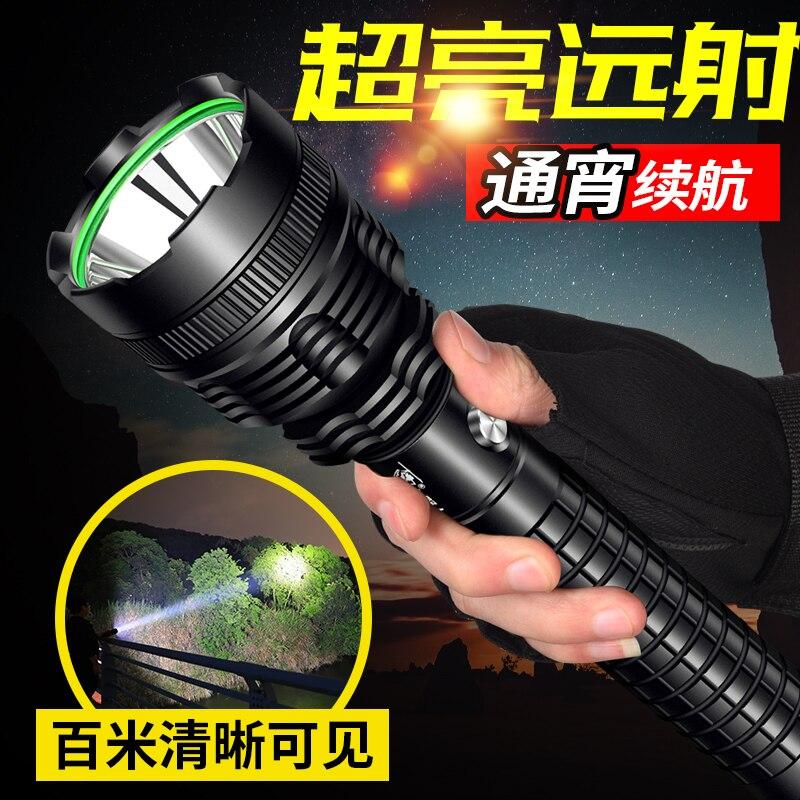 Portable Camping Flashlight Military Outdoor Powerfu Tactical Waterproof Flashlight Linterna Led Lighting Torches DB60SD enlarge