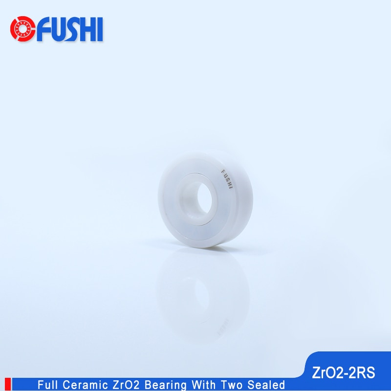 6206 Full Ceramic Bearing ZrO2 1PC 30*62*16 mm P5 6206RS Double Sealed Dust Proof 6206 RS 2RS Ceramic Ball Bearings 6206CE enlarge