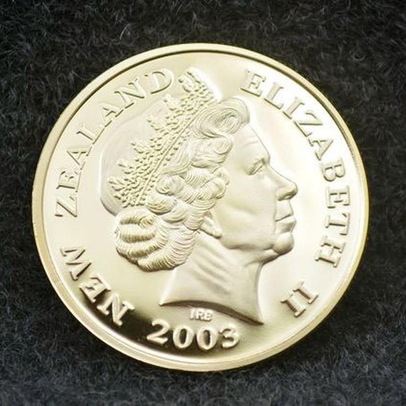 2003 Новой Зеландии Елизаветы II памятная монета в подарок Монетка подарок