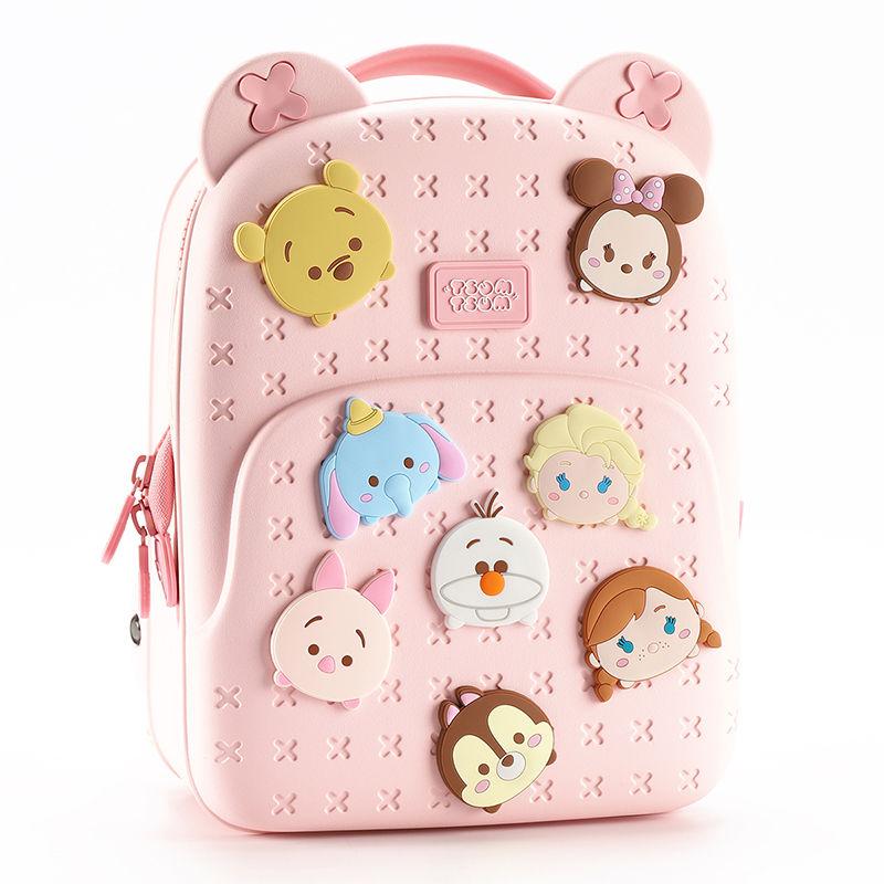 Disney Minnie Large Capacity EVA Material School Bag Princess Backpack Cute Cartoon Light and Waterproof