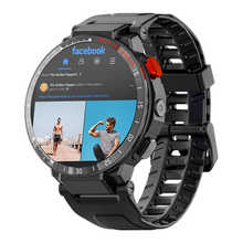 Смарт-часы Carkira 4G, Android 7,1, GPS, Wi-Fi, 1,6 дюйма, сенсорный экран