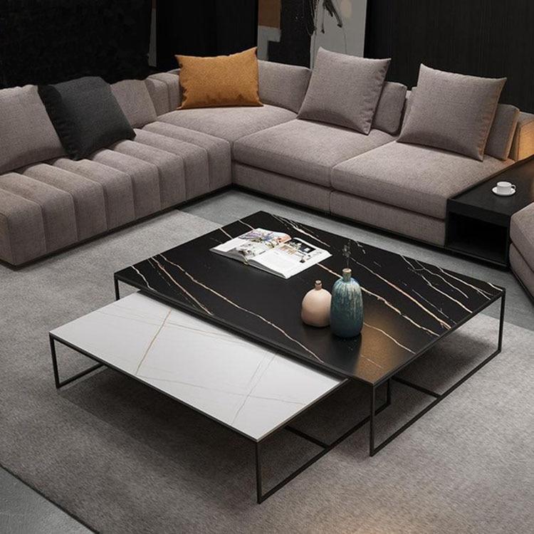 Кофейный столик, современный прямоугольный столик для небольшой квартиры, дома, гостиницы, офиса