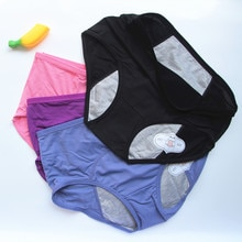 ALICENO Leak Proof Menstrual Panties Period Pants Women Underwear Cotton Waterproof Briefs Dropshipping