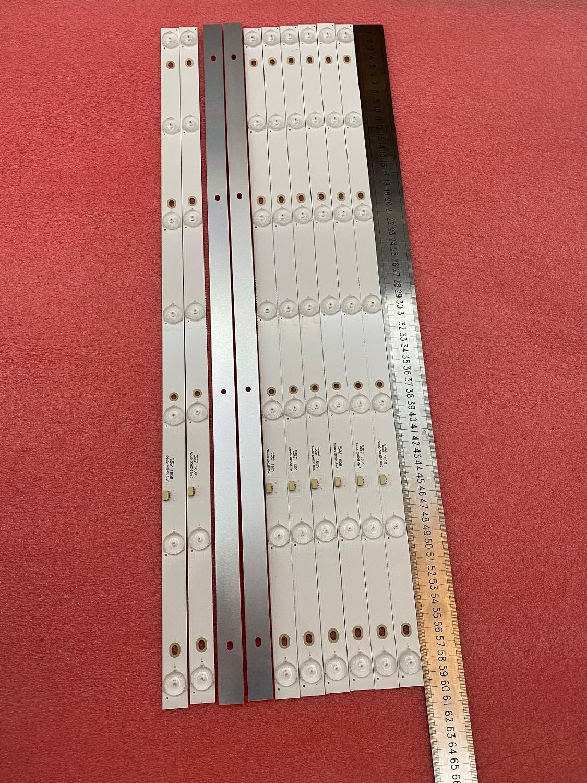 Nueva 15 unids/lote 7LED tira de LED para iluminación trasera para 32PHF3001 32PHF3061 32PHF3021 32PHF5011 GC32D07-ZC21FG-15 26 RF-EG320B32-0701S-07A1