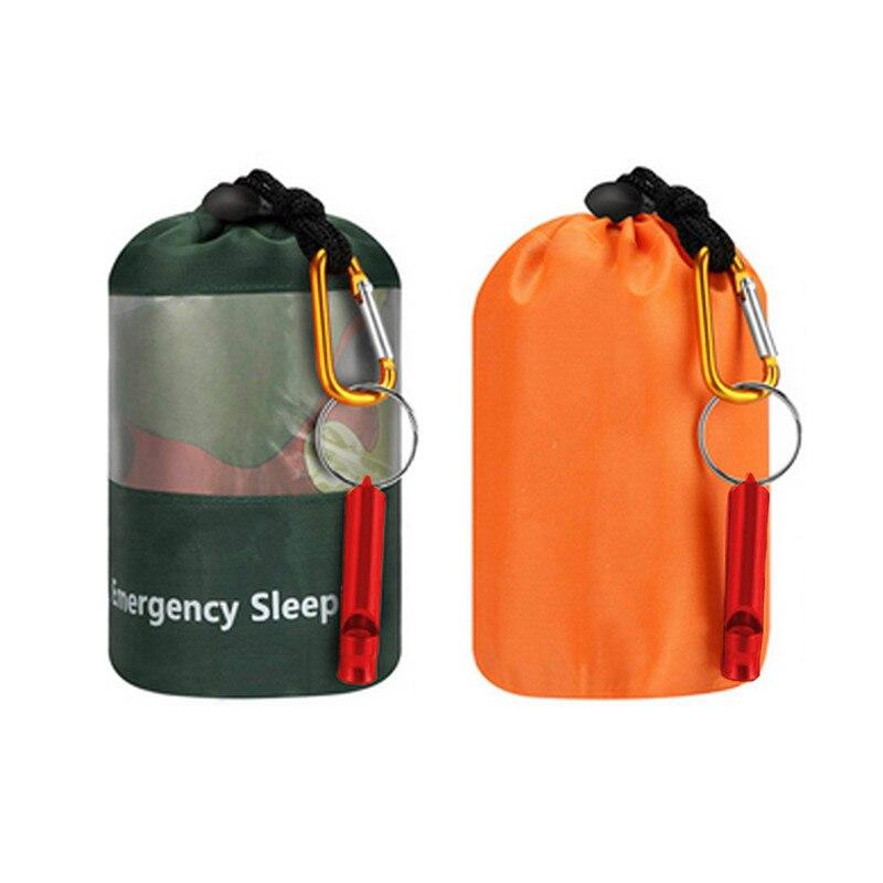 Notfall Überleben Camouflage Schlafsack Tragbare Wasserdichte Mehrweg Thermische Schlafsäcke