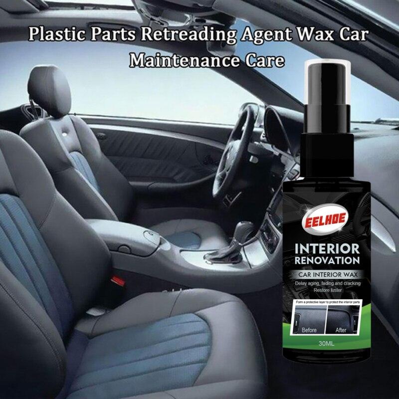 30ml Automotive Interior Plastic Parts Retreading Agent Plastic Parts Wax Instrument Panel Retreadin