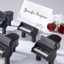 1PCS Platzkartenhalter Schreibtisch Karte Ständer Clips Draht Tisch Bild Foto Halter Klavier Name Karte Halter Tisch Anzahl halter