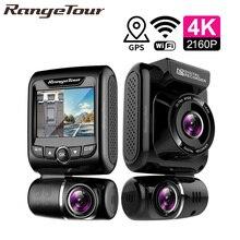 Mini Versteckte 4K 2160P Dual Lens Auto DVR WIFI GPS Logger Novatek 96663 Chip Sony IMX323 Sensor Dual kamera Dash Cam Recorder D20