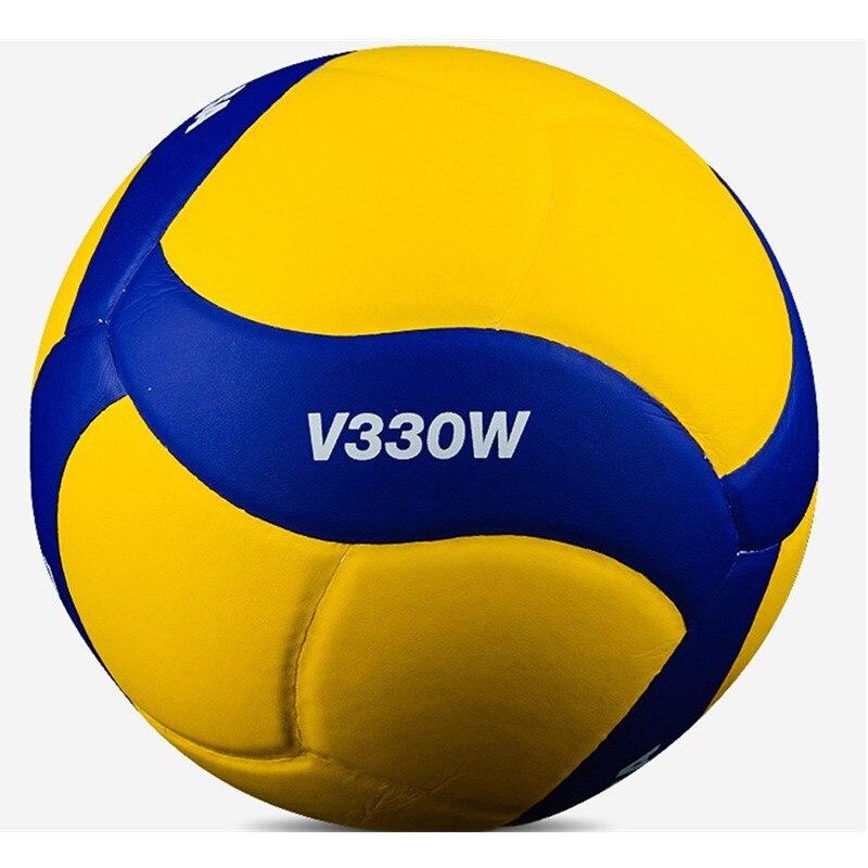 Оригинальные японские волейбольные мячи Mikasa V330W для тренировок в помещении, размер 5, мягкие и жесткие волейбольные мячи для взрослых