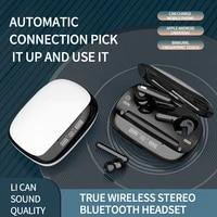 2020 crtone t30 tws mini bluetooth earphone hd smart sensor stereo super bass earbuds dual microphone f910 f920