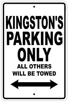 Kingston стоянки только в том случае, все Прочие ожерелья и подвески будет буксируемая название осторожно Предупреждение уведомления Алюминий ...
