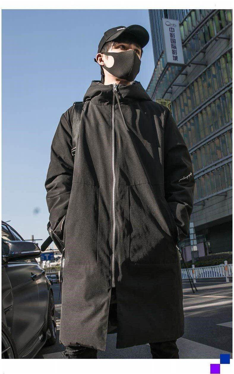 2021 New Man Spring Autumn Fall Fashion Duck Down Coat Double Face Camouflage Printed Hoodies Male Warm Parkas Plus Big Size XXL