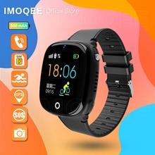 New 2021 Smart Watch Kids GPS HW11 Pedometer Positioning IP67 Waterproof Watch For Children Safe Sma