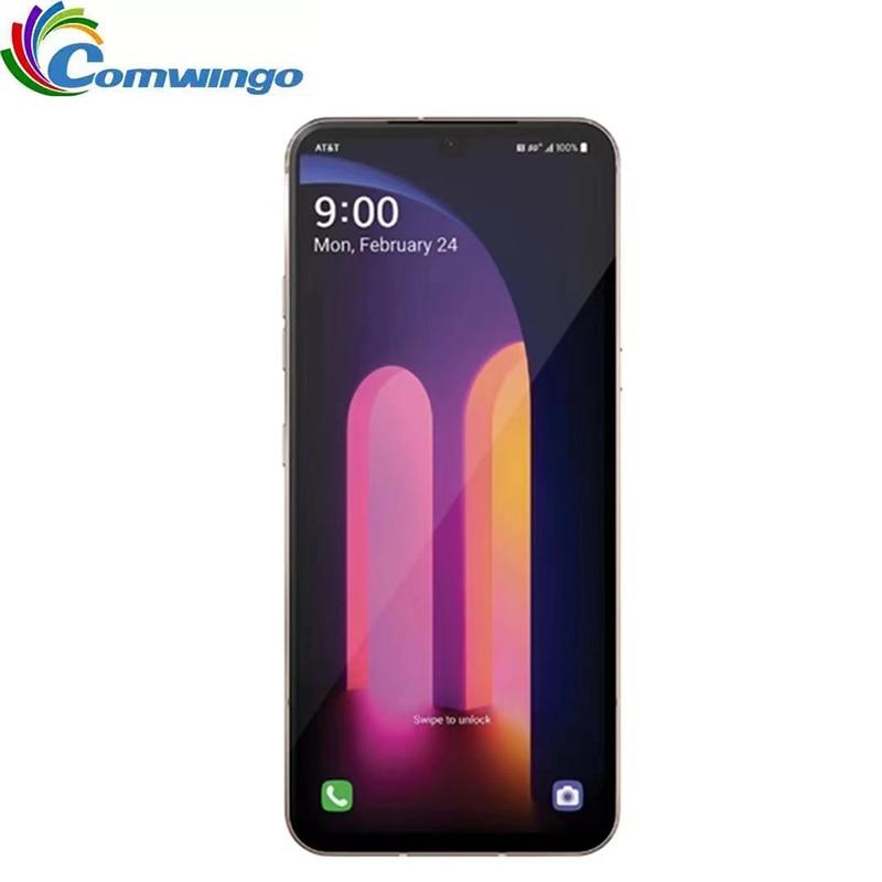 Перейти на Алиэкспресс и купить Изначально разблокирована LG V60 ThinQ V600AM 5000 мА/ч, US версия 6,8 дюймов 8 Гб Оперативная память 128 Гб Встроенная память Snapdragon 865 NFC 5G для мобильного те...