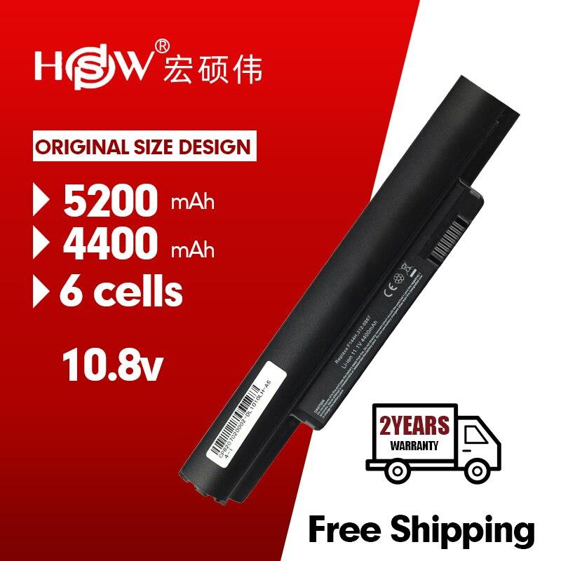 HSW 5200mAh Battery for Dell Inspiron Mini 10 10v 1010 1010n 1010v 1011 1011n 1011v H766N H768N J590M J658N K781 K916P PP19S