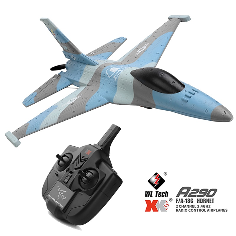 A290 RC Remote Control Outdoor RC Plane Toys Model Aircraft 3CH 452mm 3D/6G System Airplane EPP Drone Wingspan Toys enlarge