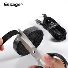 Essager Organizer per cavi supporto per auricolari protezione per cavo del Mouse caricabatterie gestione dei cavi per iPhone Clip per avvolgicavo USB Samsung