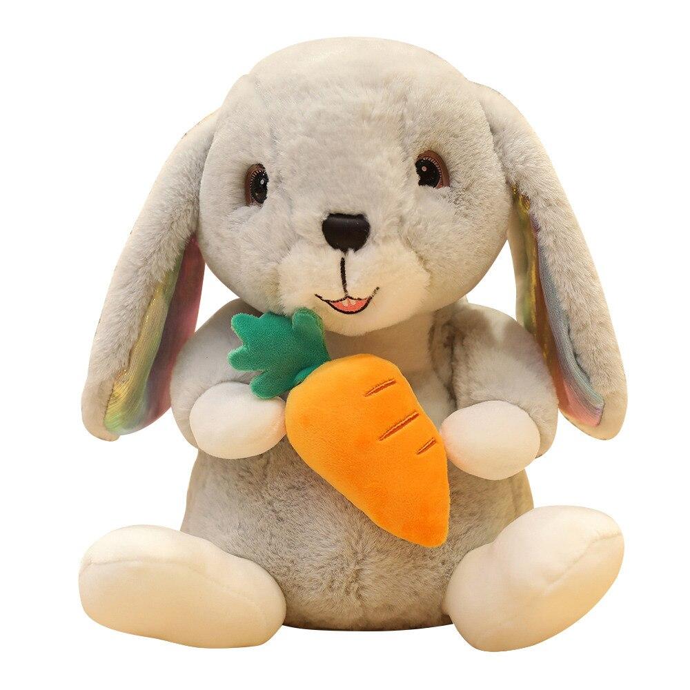 Милый мультяшный кролик, плюшевые игрушки, милая морковка, клубника, мягкие куклы, детские игрушки, мягкая игрушка-Зверюшка, 25/30/40 см