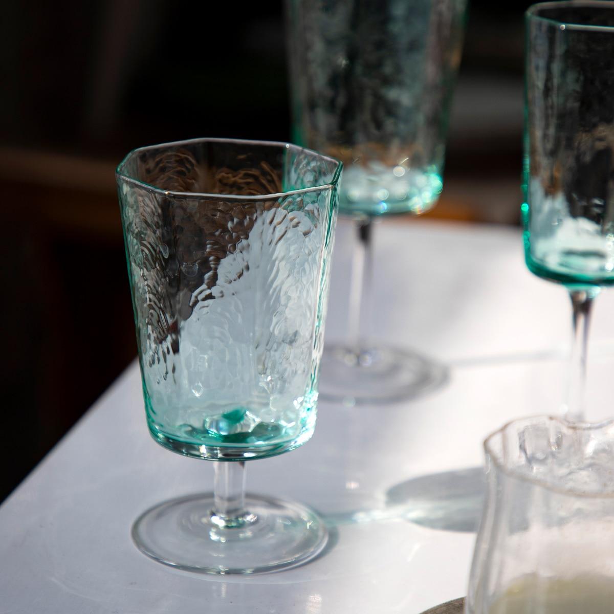 Vasos de Cristal de colores, Vasos de Cristal Retro minimalista, copa de...