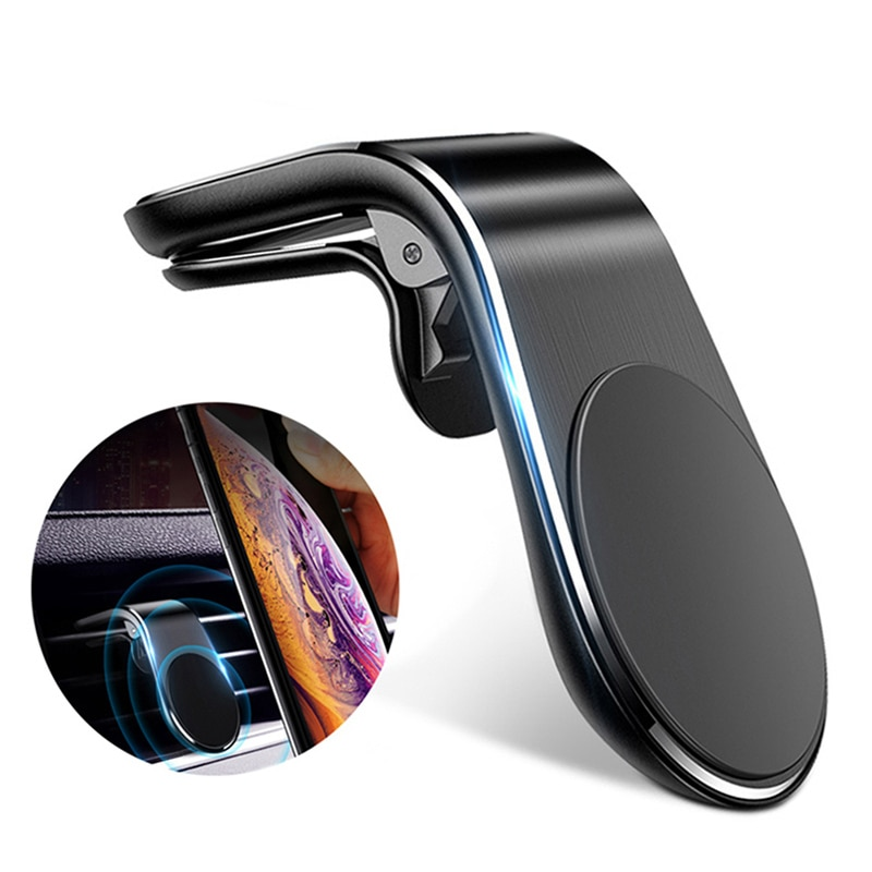 Magnetic Car Phone Holder for iPhone 12 11 X Samsung Xiaomi Car Air Vent Magnet Stand in Car GPS Mou