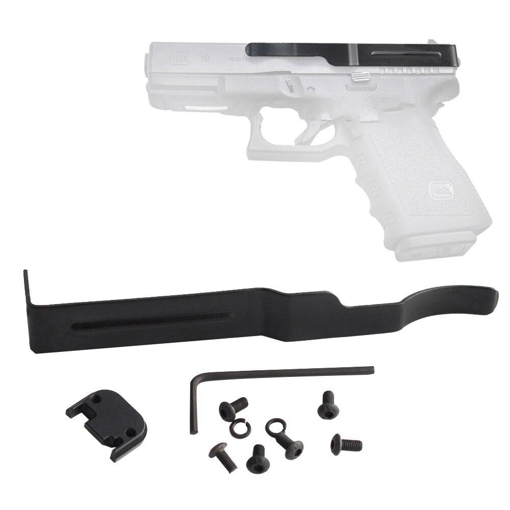 Concealed Carry Gun Belt Clip for Glock Slide Holster Glock 17 19 22 23 24 25 26 27 28 30S 31 32 33 34 35 36 Pistol Clip Slides