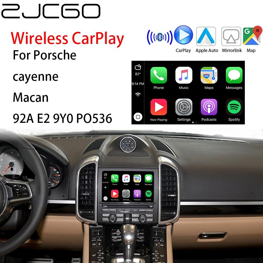 ZJCGO, Apple CarPlay inalámbrico, interfaz para coche Android, caja adaptadora para Porsche cayenne Macan 92A E2 9Y0 PO536