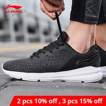 Li-ning hombres REACTOR V2 zapatillas para correr cojín transpirable duradero antideslizante forro Li Ning zapatillas deportivas ARHN239 XYP811