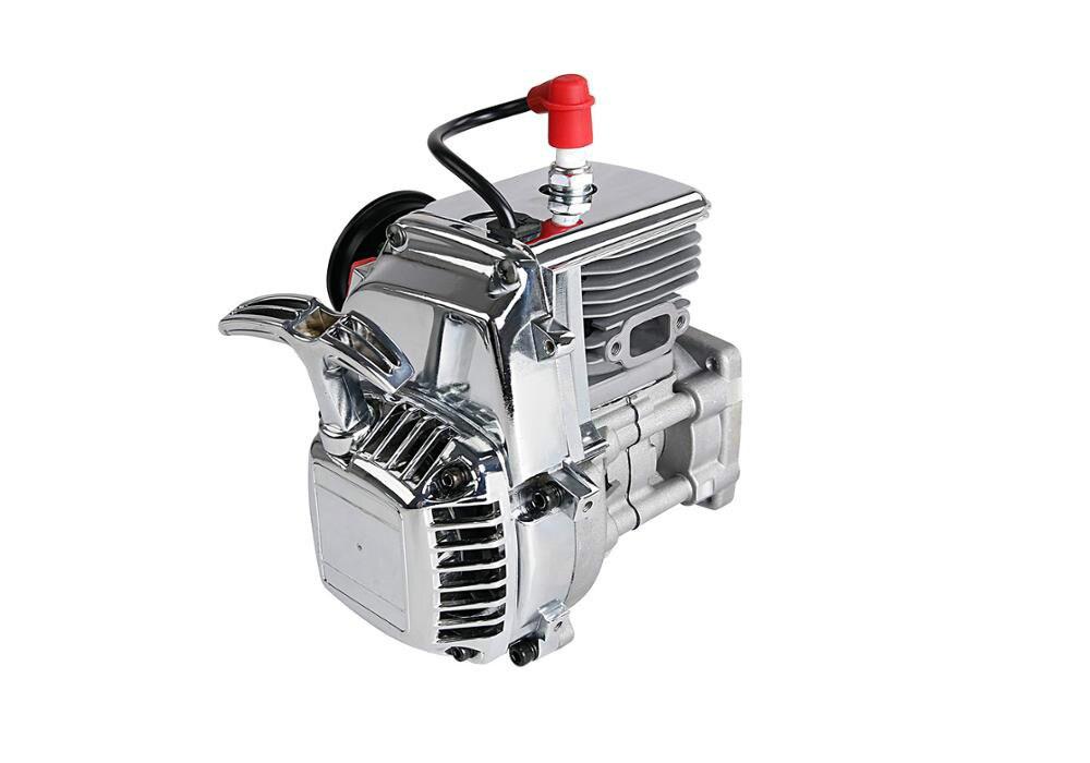 محرك سيارة بجهاز تحكم عن بعد ، 36CC ، 4 براغي ، كروم ، لـ 1/5 Hpi ، Rovan ، Km ، Baja 5b ، 5t ، 5sc ، Ss ، Losi ، 5t ، Mcd ، FG ، solo ed ، RedCat