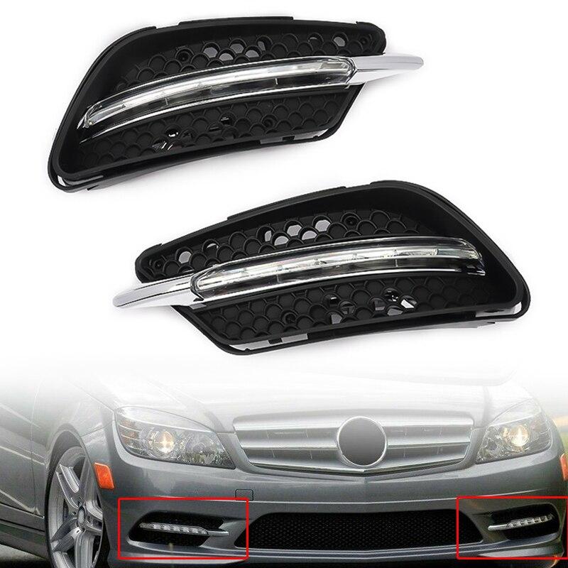 1 par de luces LED antiniebla MagicKit para Mercedes Benz W204 AMG 08-11