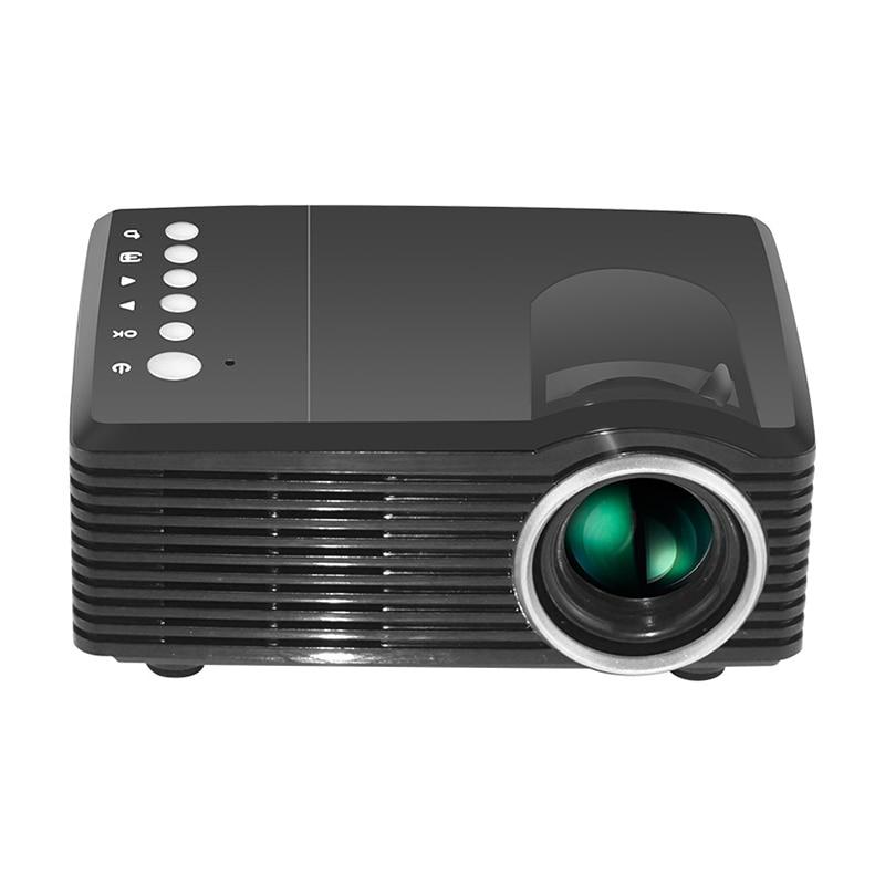 4K HD 3D Mini proyector inteligente DLP D-TV AV USB TF Cine en Casa FKU66