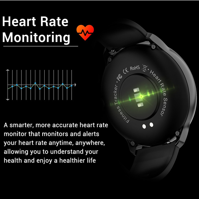 NORTH EDGE Smart Watch Men IP67 Heart Rate Blood Pressure Full Screen Touch Monitor Waterproof Smartwatch for Android IOS Phone enlarge