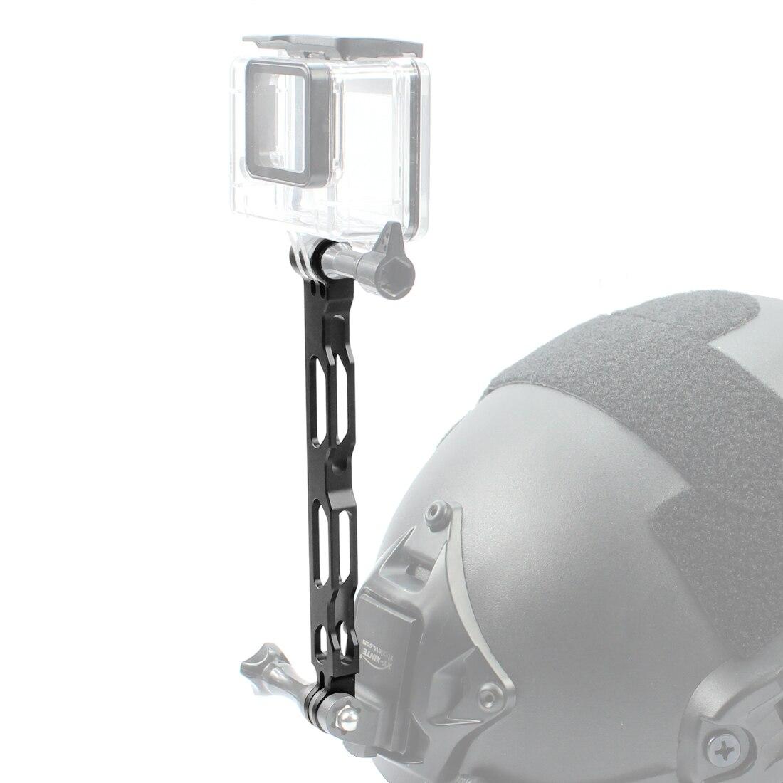 Aluminium Legierung Selfie Verlängerung Arm Pole Verlängert Stange für Gopro hero 3 + 4 4 s 5 6 7 4 k SJCAM Action Kamera