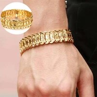 new hot sale bracelet trend punk mens bracelet chain bracelet classic bracelet shine bangle fashion jewelry