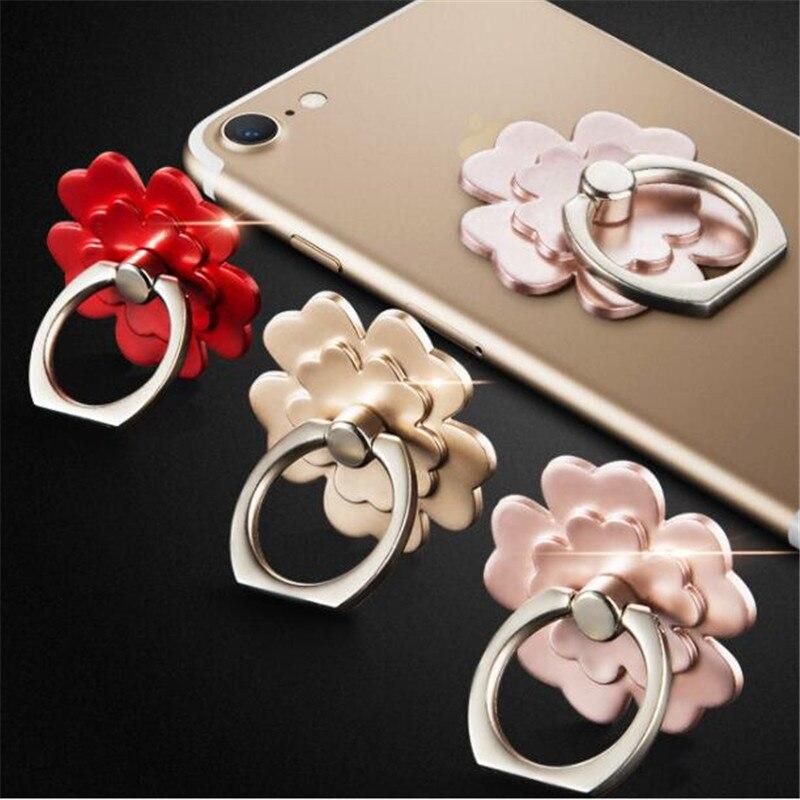 Anillo de dedo de flor de alta calidad, soporte para Smartphone, soporte para teléfono móvil, soporte para iPhone, iPad, Xiaomi, Huawei, todos los teléfonos