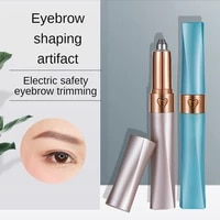 womens electric safety eyebrow trimmers automatic scraping small and portable trimming multifunctional hair removal devices
