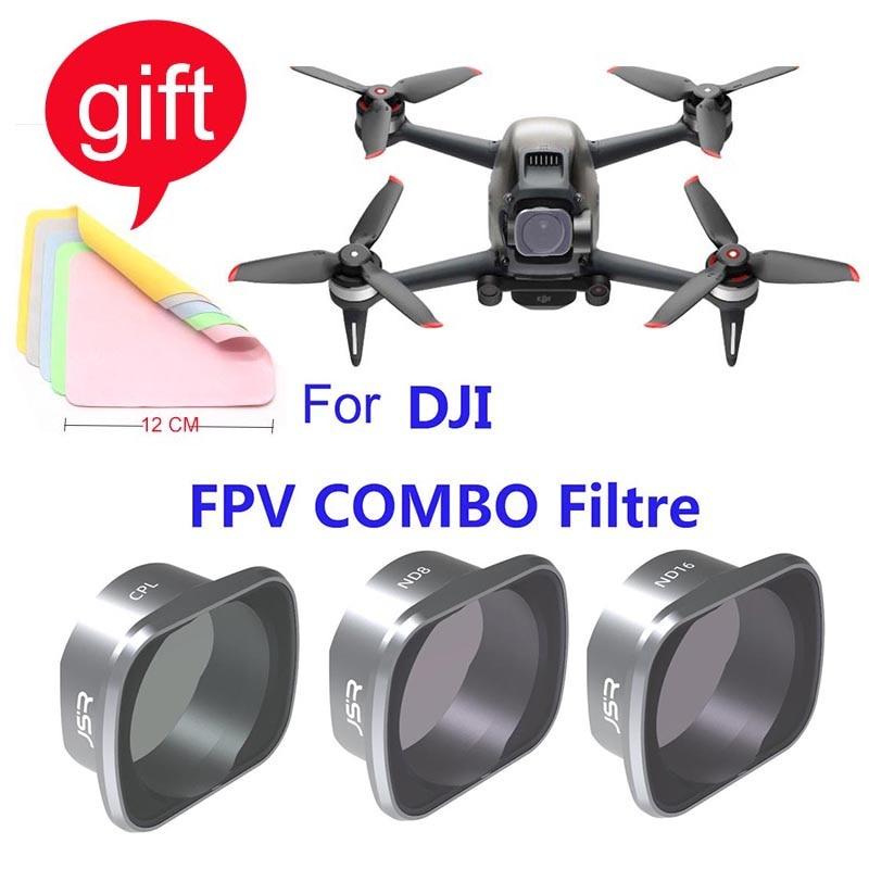 Для DJI FPV Drone Camera Gimbal Lens Filter MCUV CPL ND4/8/16/32 Camera Lens Sunhood Protector for DJI FPV Accessories