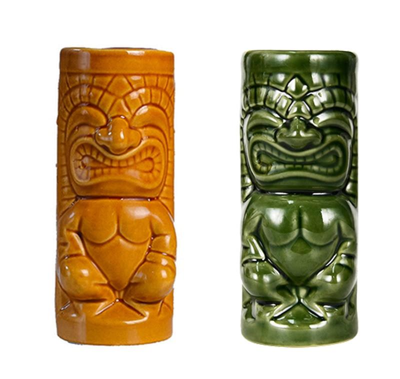Hawaii Tiki tasses tasse à Cocktail bière boisson tasse tasse à vin en céramique Tiki tasses