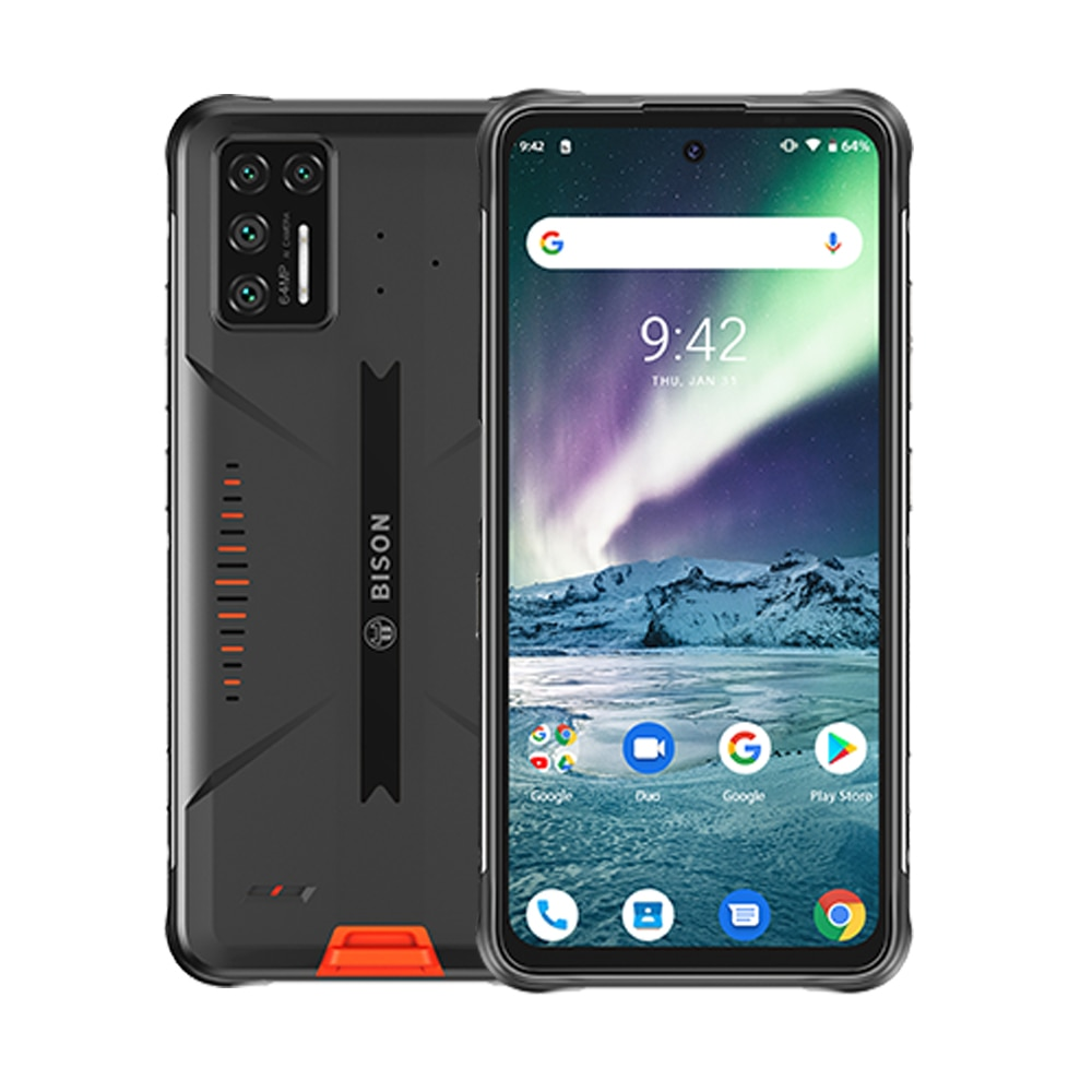 UMIDIGI BISON GT Waterproof IP68/IP69K Rugged Phone 64MP AI Matrix Quad Camera 8GB+128GB 6.67