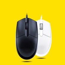 Para ratón con cable t-wolf V3 ergonómico esculpido con forma derecha con desplazamiento hiperrápido y receptor USB para ordenadores y portátiles