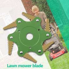 Electric Lawn Mower 65MN Manganese Steel Lawn Mower Blade Brush Cutter Tool Grass Trimmer Head String Cutter Pruning Garden Tool