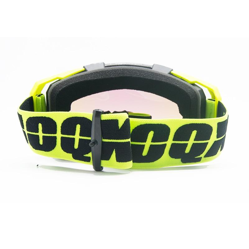 IOQX Motorcycle glasses motocross goggles moto racing men women mx goggles ski goggles for motorbike dirt bike atv enlarge
